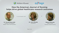 Part 2 - How the American Journal of Nursing helps drive global healthcare research outcomes