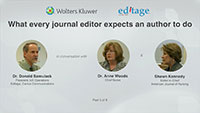 Part 5 – What every journal editor expects an author to do