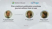 Part 6 - Five unethical publication practices journal editors hate to see