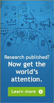 Research Published? Now get world's attention. Click here to learn more