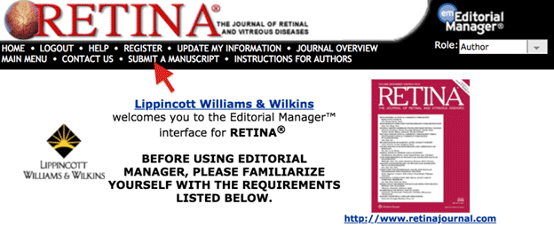 Will Your Paper Be Accepted? What the Editors of RETINA Look